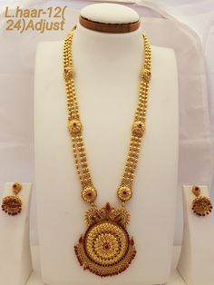 Long haar jewellery for order contact on 9881114554 Gold Temple Jewellery, Gold Wedding Jewelry, Gold Jewelry Simple, Gold Jewellery Design, Gold Earrings Designs, Gold Necklaces, Rakhi, Siri, Jewelery