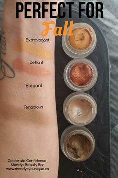 Perfect fall colors! Younique Splurge Cream Shadow