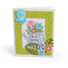 For You Watering Can Card
