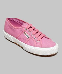 This Lilac Chiffon Cotu Classic Sneaker - Women by Superga is perfect! #zulilyfinds