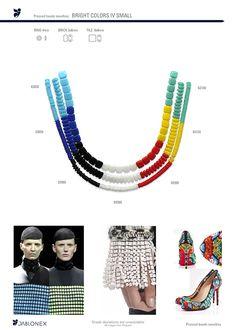 Jablonex® TILE BRICK RING bright colors IV small