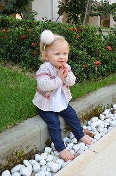 Super cute little girl! - www.littlejoy.com.br Worldwide Shipping