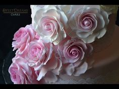 How to make rose with no special tools (circle cutter and spoon). - CakesDecor