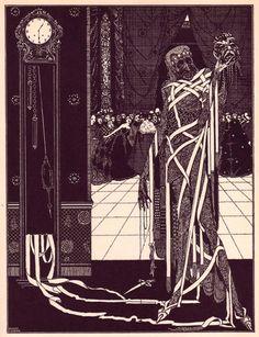 Apesar da fama de Edgar Allan Poe por aqui, ele foi ofuscado pelas ilustrações de Harry Clarke, que conseguiu imprimir o próprio estilo nos contos do autor.