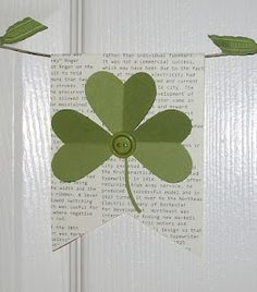 I like this.  It is not hokey looking like most St. Patrick's Day decorations.