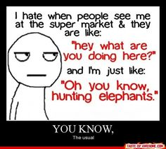 Hunting Elephants