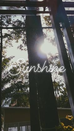 Sunshine Tumblr Wallpaper, Wallpaper Quotes, Wallpaper Backgrounds, Iphone Wallpaper, Snapchat Picture, Instagram And Snapchat, Foto Snap, Schrift Design, Insta Photo Ideas