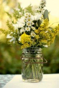 love the wildflower look