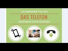 Hasznos német kifejezések telefonáláshoz!