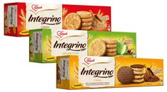 GRAND PRIX for best supermarket packaging in Serbia 2012 /13: Integrino biscuits, design by Unibrand Communications.