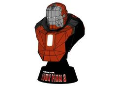 Iron Man Mark 36 (Mark XXXVI) Peacemaker Bust Free Papercraft Download - http://www.papercraftsquare.com/iron-man-mark-36-mark-xxxvi-peacemaker-bust-free-papercraft-download.html#Bust, #IronMan, #Mark36, #MarkXXXVI, #Peacemaker