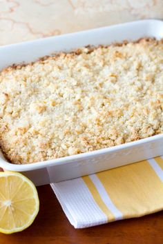 Lemon Cream Cheese Coffee Cake - Two in the Kitchen Lemon Desserts, Lemon Recipes, No Bake Desserts, Just Desserts, Sweet Recipes, Delicious Desserts, Yummy Food, Fruit Recipes, Cake Recipes