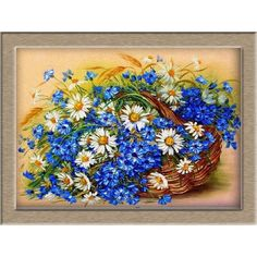 """DIY 5D diamond painting cross stitch """"Daisy and Moth orchid"""" size:40*30cm round diamond embroidery mosaic decoration"""