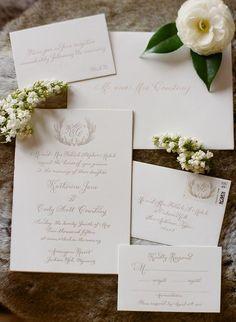 Classic invitations