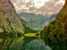 *~Lake Obersee in the Berchtesgaden National Park