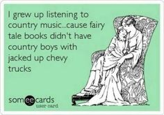 Ecard I grew up listening to country music