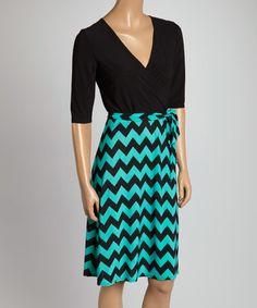 Look at this #zulilyfind! Jade Three-Quarter Sleeve Dress #zulilyfinds