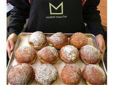 Beignets at Midori Matcha & Café
