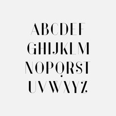 Vanity - Free Modern Type Family by Hendrick Rolandez, via Behance