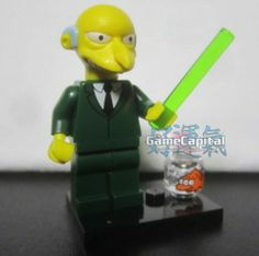 Mr. Charles Montgomery Plantagenet Schicklgruber Burns Lego minifigures The Simpsons Loose Figure www.thegamecapital.com #Lego #Minifigure #Legominifigures #Simpsons #TheSimpsons #LegoSimpsons