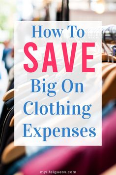 You can save big on your clothing expenses and stick to your budget by learning to creatively to stretch your hard earned dollars. Ways To Save Money, Money Tips, Money Saving Tips, How To Make Money, Clothes Shopping Tips, Shopping Hacks, Shopping Deals, Paying Off Credit Cards, Living On A Budget