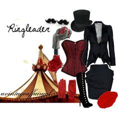 Ringleader, created by avintageaffairgal on Polyvore