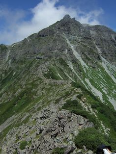 """Hodaka mountain"" is one of famous mountain in Japan!"