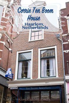 Corrie Ten Boom House - Haarlem, Netherlands - World Traveling Military Family Secret Hiding Spots, Hiding Places, Places To Go, Corrie Ten Boom, The Watch Shop, Haarlem Netherlands, Secret Rooms, Amsterdam Travel, Where To Go