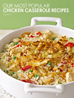 Our Best Chicken Casseroles