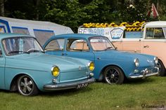 VW Karmann Type 3 with yellow headlight lens http://www.classiccult.com/blog/ikw-wanroij-2013.html