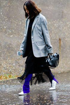 The Best Street Style From London Fashion Week #londonfashionweeks,