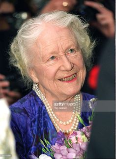 The Queen Mother At Age 96 Attending A Reception Given By The British Homeopathic Association. These Days She Is Rarely Seen Without A Hat With A Veil. Get premium, high resolution news photos at Getty Images Queen Mother, Queen Mary, Queen Elizabeth, King George Iv, 4 August, British Monarchy, Rare Photos, Veil, Royals