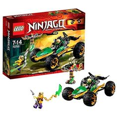 lego ninjago jungle raider with lloyd and kapau minifigures construction toys view