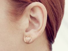 COOPS squeeze on earings!  ROSE-HEART-1