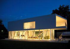 Modern minimalist architecture house
