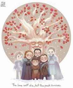 game of thrones house stark family