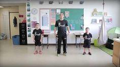 Bouge en classe avec Jeunes en santé #6 Yoga For Kids, Exercise For Kids, Coaching, French Classroom, Brain Gym, Self Regulation, Cycle 3, Brain Breaks, Teaching French