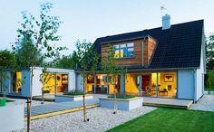 casa con arquitectura y diseño de joanna grey design
