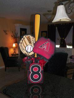Baseball centerpiece