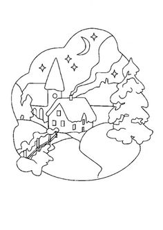 KARÁCSONYI SZÍNEZŐK - tanitoikincseim.lapunk.hu Pattern Art, Smurfs, Kids Rugs, Ideas, Painting, Village Noel, Fictional Characters, Juliette, Decor