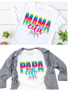Coastal Home Interior Bright and colorful Mama cita Papa Cito Cinco De Mayo Tee Great festive shirts to wear out on the holiday for a gender reveal party or year round Great fun design macandteesco etsyshirts cincodemayo Gender Reveal Outfit, Gender Reveal Shirts, Fiesta Gender Reveal Party, Baby Shower Gender Reveal, Mexican Birthday Parties, Festival Shirts, Cricut, Party Shirts, Reveal Parties