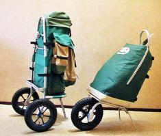Tiwandel.nl Camping Packing, Van Camping, Camping Glamping, Camping Survival, Outdoor Camping, Bike Cart, Fishing Cart, Beach Cart, Hiking Staff