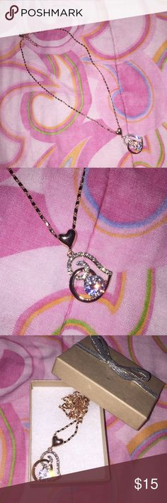 Rose gold heart necklace Beautiful Brand new necklace Jewelry Necklaces