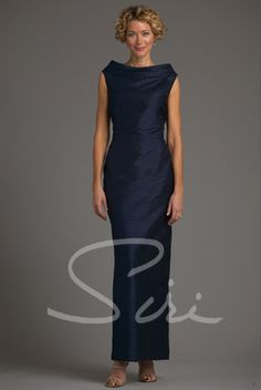 d9cc4411f3a Siri - Special Occasion Gowns - Metropolitan Sheath Gown 5750 - San  Francisco Flax Clothing