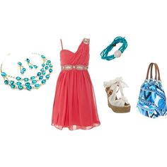 Summer Dress, created by jenners9490 on Polyvore