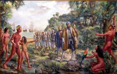 Portuguese navigator Pedro Alvares Cabral arrives in Brasil 1500 Portuguese Empire, Portuguese Language, Learn Portuguese, Age Of King, Fall From Grace, World Of Darkness, Conquistador, Us Images, Roman Empire