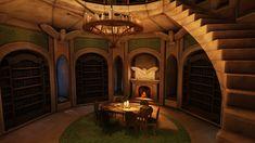 Fantasy Library by Khaerii.deviantart.com on @DeviantArt