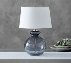Glass Base Table Lamps Sea Green & Blue Glass Table Lamps  Pinterest  Glass Table Lamps