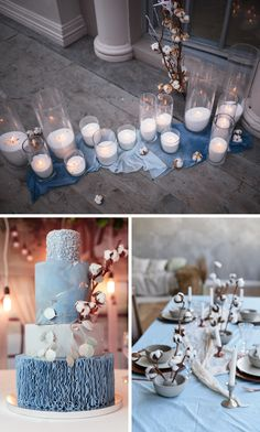 Herbstinspiration: Hochzeitsdeko mit Baumwolle - Hochzeitskiste Table Decorations, Inspiration, Home Decor, Hair Fascinators, Newlyweds, Rustic, Decorating, Fall, Cotton