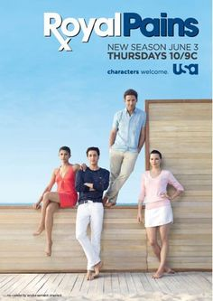 Royal Pains! Don't ask me why I love this show!